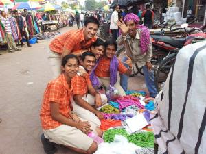Students at SAI international school have learnt valuable business and marketing skills. The market vendors have also benefitted from their enterprise.