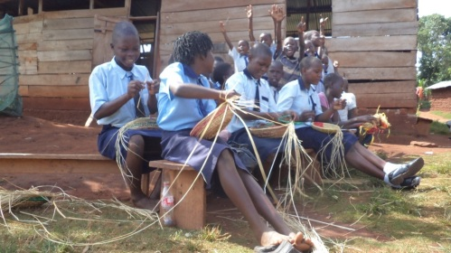 Rock Community School Uganda (Baskets) JPG