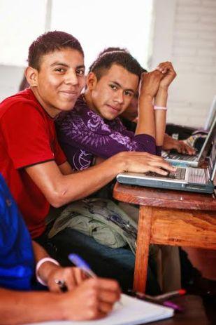 boys at computer