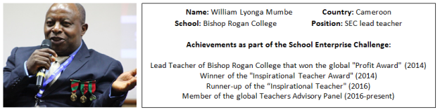 William Lyonga bio for blog
