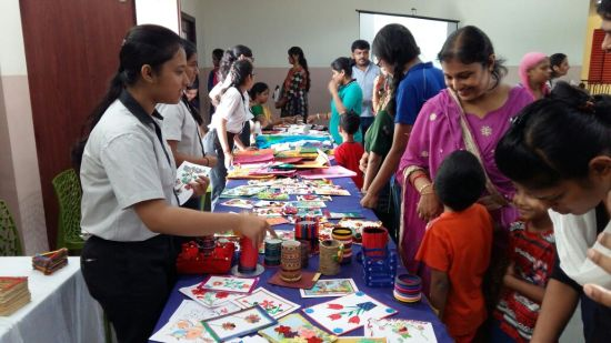 Asian International School (India) handicrafts sale