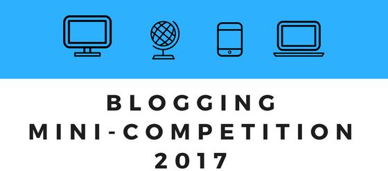 BLOG- Blogging mini-competition 2017