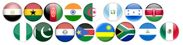 BMC participants flags
